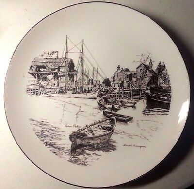 """GORHAM Fine China,  Limited Edition PLATE """"SAN PEDRO"""" by Lionel Barrymore, EX+"""