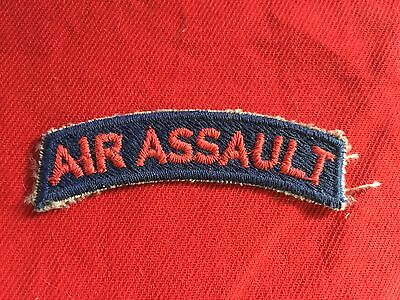 US Army 11th Airborne - Air Assault Tab - cut edge