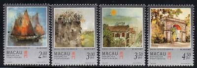 MACAO MNH 1997 SG974-77 Paintings of Macao by Kwok Se