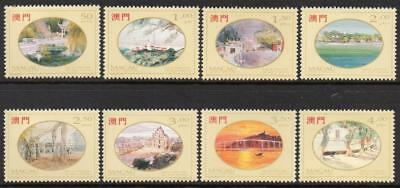 MACAO MNH 1995 SG871-78  Paintings of Macao by Lio Man Cheong