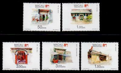 MACAO MNH 1995 SG894-98 Temples (3rd series)