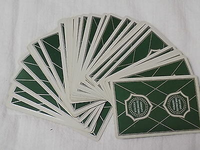 Vintage Western Carloading Company Railroad Playing Cards
