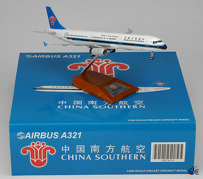 China Southern Airbus A321 Reg: B-6659  JC Wings 1:200 Diecast Models     XX2850