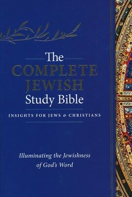 The Complete Jewish Study Bible,  Hardcover, 2016