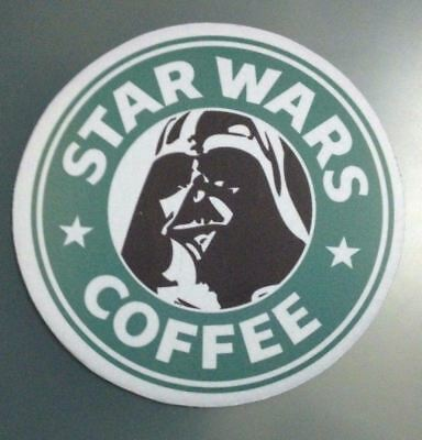 STAR WARS COFFEE  - PC Office Mousepad Mouse Pad Mat