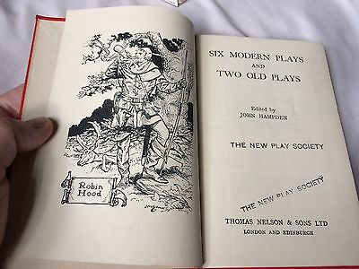 Plays for Children - 2 books - Nelson Editions - 1936, 1952