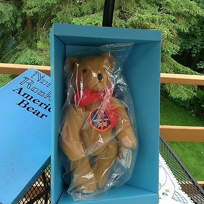 """Vintage 1980's 17"""" Second Edition, Signed & Numbered, Norman Rockwell Teddy Bear"""