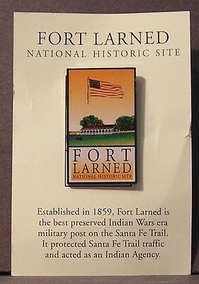 Fort Larned National Historic Site Souvenir Pin