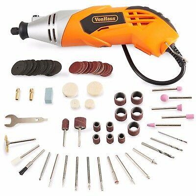 VonHaus 170W Multi-purpose Multitool With Variable Speed Settings & 120pc Access