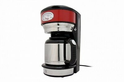 Russell Hobbs 21710-56 Retro Ribbon Red Thermo-Kaffeem