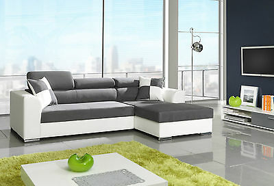 eck couch mit schlaffunkzion eur 50 00 picclick de. Black Bedroom Furniture Sets. Home Design Ideas