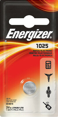 1 x Energizer CR1025 1025 3V Lithium Coin Battery