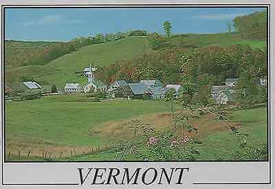 Old Postcard: Vermont, United States.
