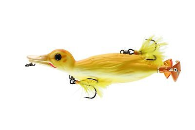 Savage Gear D-110-YD 3D Topwater Duck Pike Musky Lure Yellow Duckling, 4 1/4""