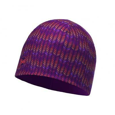 Buff Kids Microfiber and Polar Deep Grape Hat