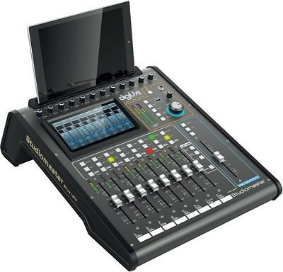 Studiomaster DigiLive16 16ch digital mixer with flying faders, touch screen,