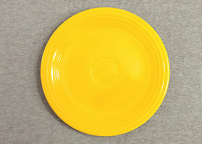 "Fiesta Vintage Yellow 9"" Lunch Plate - Fiestaware (1935 - 1968)"