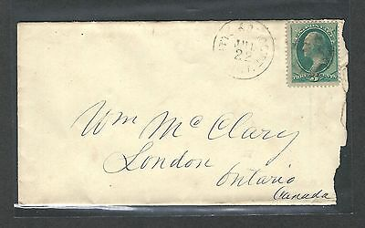 mjstampshobby 1870 US Cover VF Cond Vintage RARE (Lot1456)