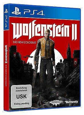 Wolfenstein 2 II The New Colossus PS4 Neu & Ovp