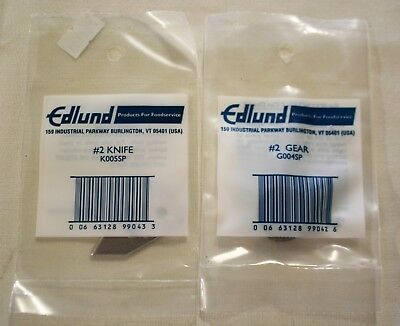 Edlund #2 Can Opener Replacement Knife & Gear