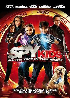 Spy Kids: All the Time in the World (DVD, 2011, Rated PG, WS) FREE Shipping/NEW