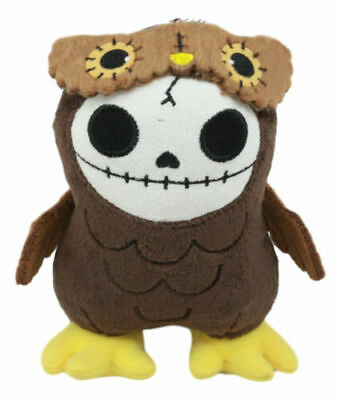 Summit Small Brown Owl Hootie Furry Bones Collectible Plush Doll Furrybones