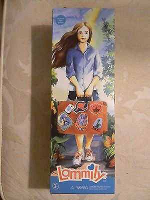 NEW Exclusive First Edition Lammily Fashion Doll Normal Realistic Beauty Toy NIB