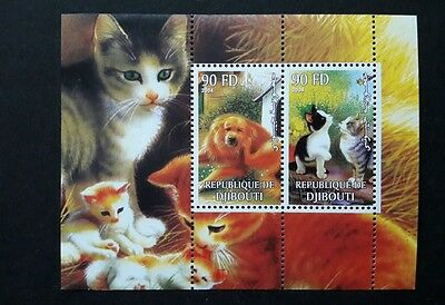 Republique de djibouti stamp cats 2004 africa