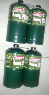 NEW Coleman Propane Cylinders Tanks, 16 or 16.4 oz, Set of 18 empty, Camping