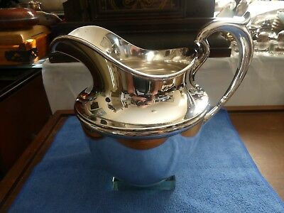 Gorham Sterling Pitcher From J.E. Caldwell 4 1/2 Pint Number 024 Puritan