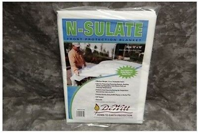 DeWitt NS12 12 Pack N-Sulate 1.5 oz 12'x10' Frost  Cloth Plant Freeze Protection