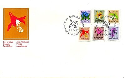 Canada 1977 Fdc - Flowers