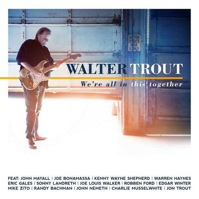 Walter Trout ‎– We're All In This Together  CD NEW