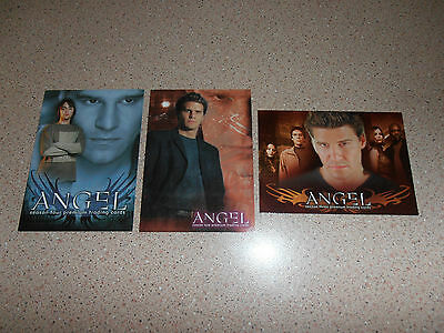ANGEL mixed lot of 3 promo cards