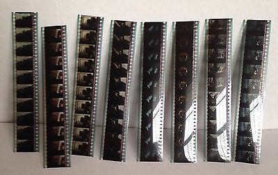 """8 Film Cell Strips From The Movie """"Minority Report' Tom Cruise Collectible"""
