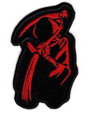Reaper Motorcycle Patch Iron/Sew on Patch Badge #094