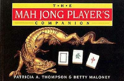 NEW The Mah Jong Player's Companion By Patricia A. Thompson Paperback
