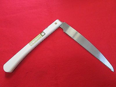 """New Japanese folding Hand saw Blade 210mm 8.2"""" Woodworking saw Made in Japan"""