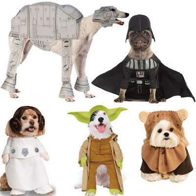 Pet Dog Yoda Costume Rubies Costume Dress Star Wars Outfit Halloween M