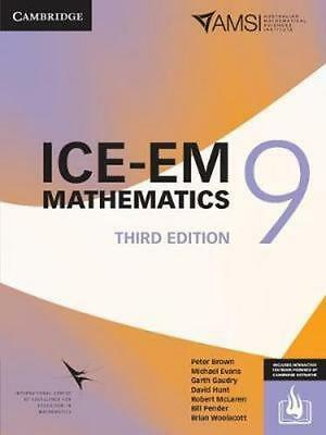 NEW ICE-EM Mathematics 3ed Year 9 Print Bundle (Textbook and Interactive Textboo