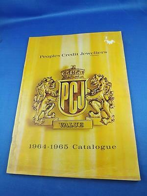 Catalogue Peoples Credit Jewellers 1964-1965 Watches Bulova Housewares Canada
