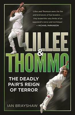 NEW Lillee & Thommo By Ian Brayshaw Paperback Free Shipping