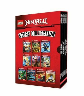 NEW LEGO Ninjago: Story Collection (10 Book Box Set) Hardcover Free Shipping