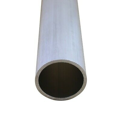 Select OD 4mm - 8mm 6061 Aluminum Round Tubing Length 100mm - 600mm