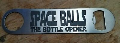 "Spaceballs ""the bottle opener"" stainless steel bottle opener/church key"