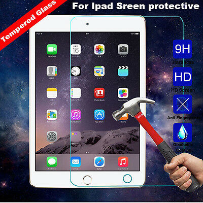 9H Premium Tempered Glass Screen Protector for Apple iphone&iPad 4 3 2&Mini &Air