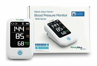 Welch Allyn Home 1500 Series Blood Pressure Monitor with Simple Smartphone