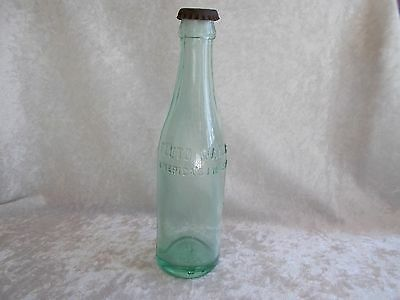 Vintage Pluto Water America's Physic Aqua Bottle