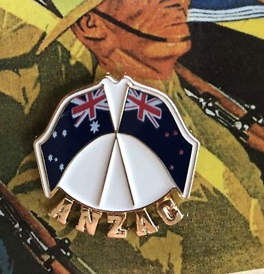The ANZAC Badge *ANZAC DAY *Remembrance Day Lapel Pin 25mm