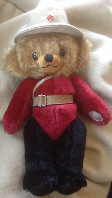 MINT Merrythought Cheeky PROTOTYPE Canadian Mountie OOAK? Made In England